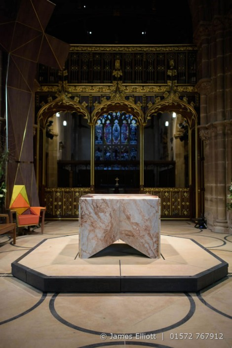 Alabaster Altar at Leicester Cathedral